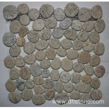 Best Price for for Pebbles Stones Mosaic 30.5×30.5mm Beige Natural Stone Pebble Mosaic Tile supply to Spain Manufacturers